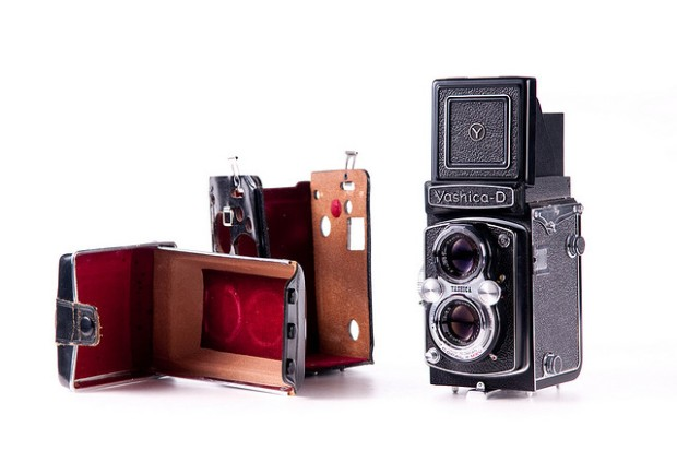 My first TLR camera