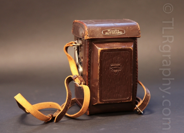 Original Case, Minolta Autocord RG Version 1, 1961, Japan